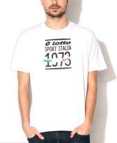Lotto - 1973 Flag Graphic Te - Heren - maat L
