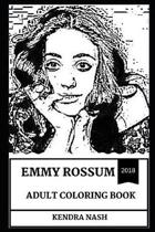 Emmy Rossum Adult Coloring Book
