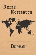 Reise Notizbuch Durban