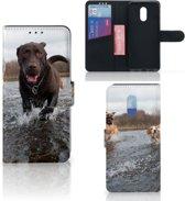OnePlus 6T Telefoonhoesje met Pasjes Honden Labrador