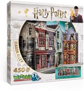 Wrebbit 3D Puzzel - Harry Potter Diagon Alley - 450 stukjes