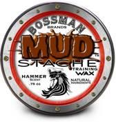 Bossman Brand MUDstache Wax Hammer