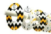 Onaroo – maathangers – kinderkamer accessoire – babykleding – maat 50 tm 92 – 7 stuks – ROWEN