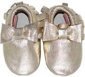 BabySteps slofjes Moccasins Bow Gold Ibiza Style extra small