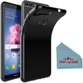 Pearlycase® Zwart TPU Siliconen Case Hoesje voor Huawei P smart