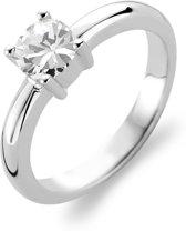 TI SENTO Milano Ring 1463ZI - Maat 60 (19 mm) - Gerhodineerd Sterling Zilver