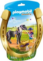 "PLAYMOBIL Pony om te versieren ""Ster"" - 6970"