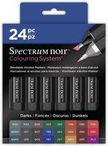 Spectrum noir 24 Pen Set - Darks
