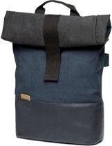 Cortina Denim Backpack Enkele fietstas - 18 liter - Memphis Blue/Blauw mt L
