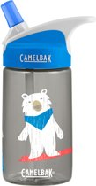 CamelBak Eddy Kids drinkfles - 400 ml - Antraciet (Bro Bears)