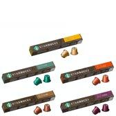 Starbucks® Nespresso cups® mild pack - 5 x 10 koffie capsules