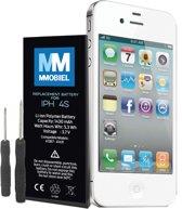 Batterij / accu voor iPhone 4S Batterij Li-Ion 3.7V 1430mAh 5.3Wh met 2x  schroevendraaiers en inclusief een stap voor stap handleiding.