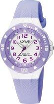 Lorus Young - RRX51CX9 - Horloge -  Kunststof - Paars - 28 mm