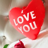 I Love You Opblaasbaar Hart