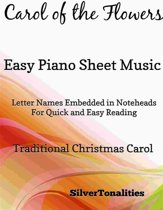 Carol of the Flowers Easy Piano Sheet Music
