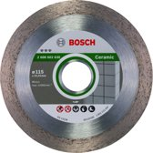 Bosch - Diamantdoorslijpschijf Best for Ceramic 115 x 22,23 x 1,8 x 10 mm