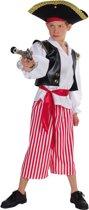 Piraten pak voor jongens 140