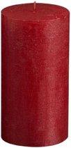 Bolsius Stompkaars Stompkaars 130/68 rustiek metallic Rood