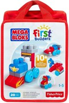 Mega Bloks Blokkenspel Build And Learn Bag Voertuigen 20-delig