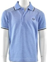 Fred Perry - Kids Twin Tipped Shirt - Kinderen - maat 110