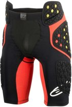 Alpinestars Sequence Pro Bescherm Broek Black/Red-L
