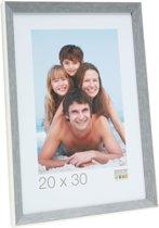 Deknudt Frames S46CH7  15x30cm Fotokader in grijsblauw met wit randje