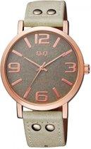 Prachtige horloge van het merk Q&Q -grijs Q892J105Y