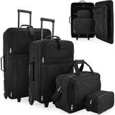 4 delige reiskoffer set, koffers, trolley