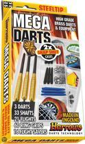 Harrows Steeltip Mega Darts Giftset