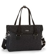 Kipling Superwork S Laptoptas Black Garden - Dames - Zwart