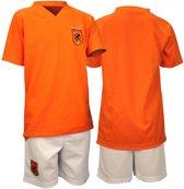 Voetbalset Supporter - Junior - Oranje/Wit - 128