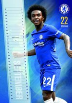 Chelsea Football Club A3 Kalender 2018