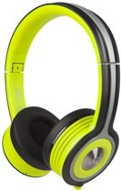 Monster iSport Freedom Neon Green - Draadloze on-ear koptelefoon met Bluetooth - Groen