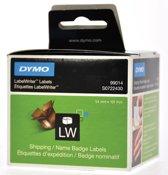3x Dymo etiketten LabelWriter 101x54mm, wit, 220 etiketten