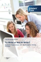 To Write or Not to Write?