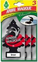 Arbre Magique luchtverfrisser Sport Tris