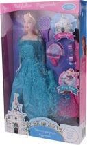 Eddy Toys Tienerpop Met Accessoires 29 Cm Blauw/blond