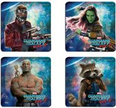 HOLE IN THE WALL Guardians of the Galaxy 2: Guardians Hardboard Coaster Set