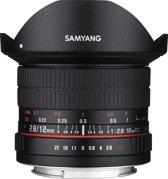 Samyang 12mm F2.8 Ed As Ncs Fisheye - Prime lens - geschikt voor Canon Systeemcamera