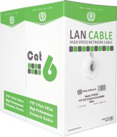 POLICETECH PF6305 FTP CABLE 4X2 AWG23 Cat.6 305m