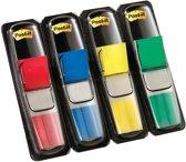 Post-it® Index Small - Standaard Dispenser - Rood, Blauw, Geel, Groen