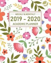 2019-2020 Academic Planner Weekly and Monthly