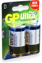 GP Batteries Ultra Plus Alkaline D Single-use battery 1,5 V