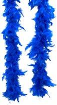 Blauwe boa - Verkleedattribuut