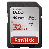 Sandisk Ultra SD kaart 32 GB