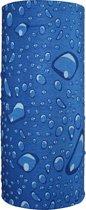 Faceshield - Nekwarmer - One size - Water Drops Blue