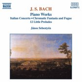 Bach J. S.: Piano Works