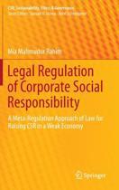 Legal Regulation of Corporate Social Responsibility