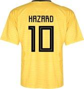 Belgie Voetbalshirt Hazard Uit 2018-2020 Kids / Senior-S