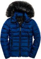 7841432999c Superdry Taiko Padded Jacket Dames Jas - Maat M - Vrouwen - blauw
